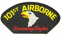 101st Airborne Division Patches